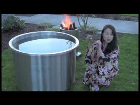 Anese Soaking Tub Ofuro Wood Fired Water Heatergreat Hot Style