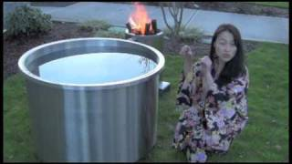 Japanese Soaking Tub Ofuro Wood Fired Water HeaterGreat Hot Tub Japanese Style Tub