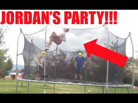 JORDAN'S PARTY (HILARIOUS!!!!!!)