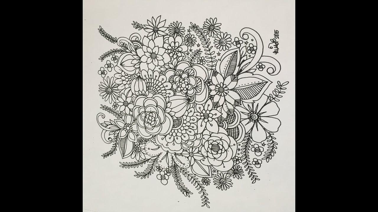 Freestyle Doodling Doodle Art