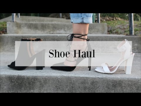 Try-On Haul | Sam Edelman, Call It Spring, Charlotte Russe...etc