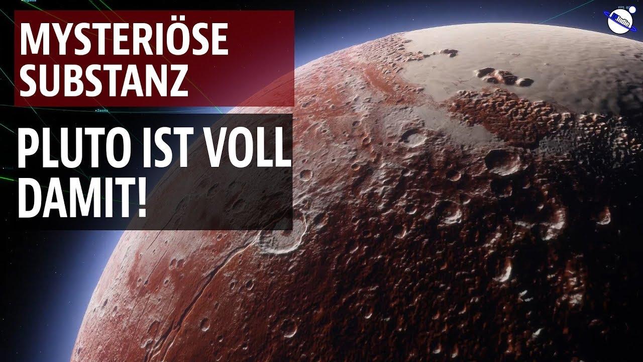 Mysteriöse Substanz - Pluto ist voll damit!