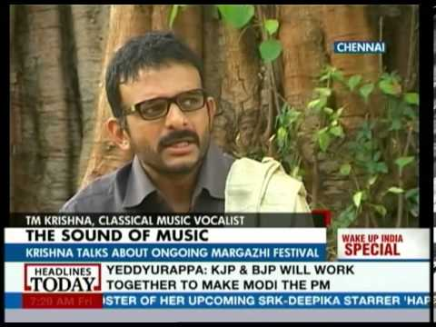 TM Krishna : A lot of dirt in the world of Carnatic music