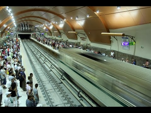Super-modern Sofia Bulgaria Metro System: Fantastic Subway Ride