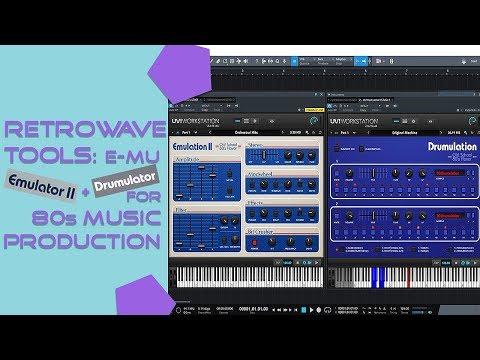 RETROWAVE TOOLS Ep.2 - E-mu Emulator II And Drumulator