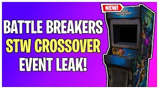 "NEW ""Battle Breakers"" STW Crossover Event Leaked! 