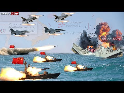 Trump panic  ( April 27,2020 ) : China Sink US Navy Warships in South China Sea Amid Pandemic