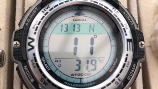 Watches for a tank of gas - Casio Twin Sensor SGW100