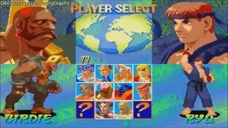 [HD] - Fightcade - Street Fighter Alpha - DAVIDOFF(JPN) Vs YoungLegend(USA)