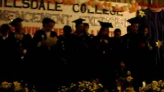 hillsdale college, farewell song