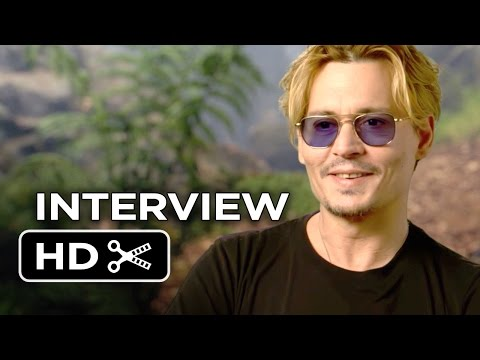 Into the Woods Interview - Johnny Depp (2014) - Musical HD