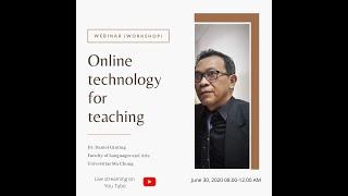 Workshop Online Teknologi It Untuk Pbm