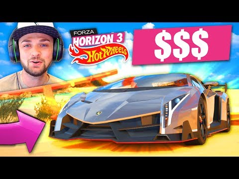 DRIVING THE MOST *EXPENSIVE* CAR IN THE GAME! 🚗🤑 - Forza Horizon 3 (HOT WHEELS DLC) thumbnail