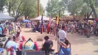 Indian Village - NM State Fair 2015 - Grand Entry