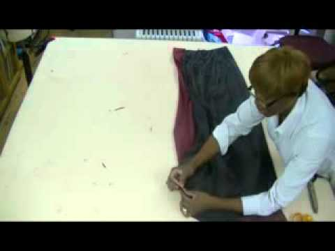 how-to-make-a-evening-skirt-with-a-back-train-(tail)-part-5