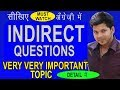 INDIRECT QUESTIONS IN ENGLISH SPEAKING