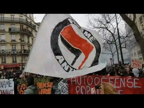 Justice and Dignity Protests in Paris, France 2017