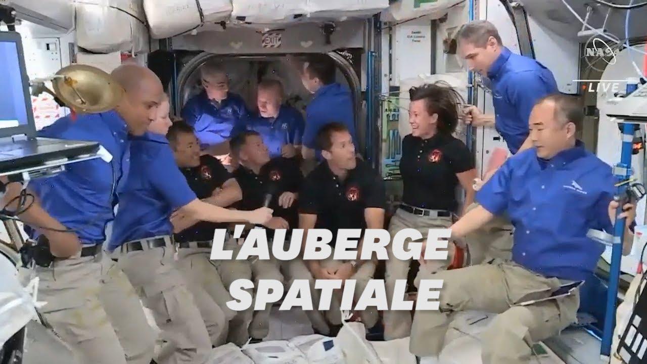 SpaceX: Thomas Pesquet et les 3 astronautes ont rejoint l'ISS