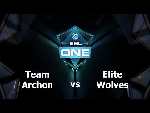 Archon vs Elite Wolves Game 2 - ESL One Manila AM - @DotaCapitalist @MotPax