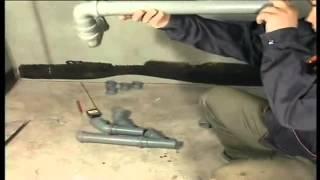 Монтаж труб канализации(Строительный портал http://donosvita.org представляет видео о том как правильно нужно делать монтаж канализации., 2012-03-27T07:17:59.000Z)