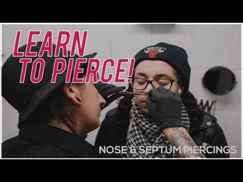 Learn to pierce! - Piercings Works Amsterdam
