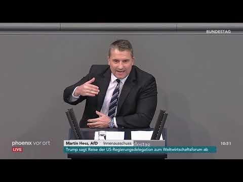 Bundestagsdebatte zum Vorgehen