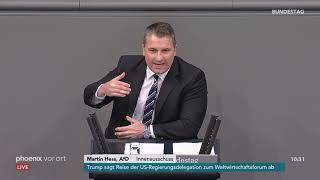 Bundestagsdebatte zum Vorgehen gegen Linksextremismus am 18.01.19