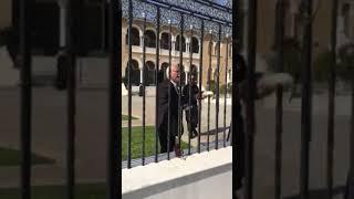 Διαμαρτυρία στην Αρχιεπισκοπή (1)