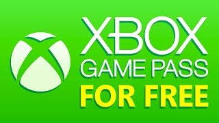 How To Get Xbox Game Pass for FREE
