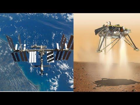 LIVE ISS Stream And NASA InSight Post Landing Programming