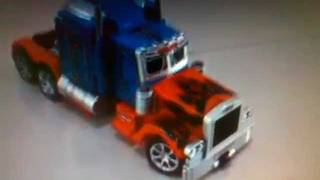 Remote Control Transformers Robot Toy Car Truck - Optimus Prime Leader Class Transforming review