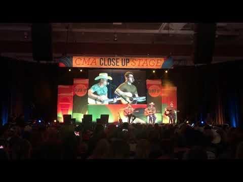 Dustin Lynch - Small Town Boy - CMA Fest...