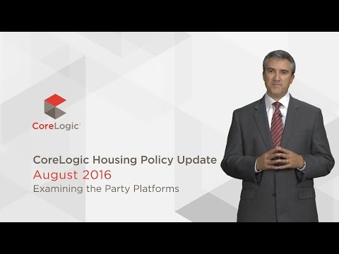 U.S. Housing Policy Update: August 2016
