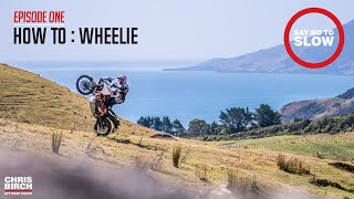 Say No to Slow : How to Wheelie an Adventure Bike