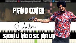Dollar (Piano Cover)   Sidhu Moose Wala   Tarundeep Singh   Free MIDI and Audio file