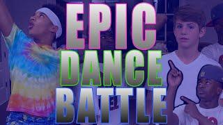 MattyBRaps EPIC DANCE BATTLE - EP 1 (Justin vs Elijah)