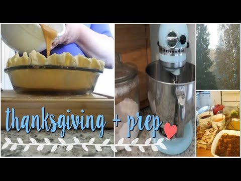 THANKSGIVING PREP | 2017 | Canadian Thanksgiving