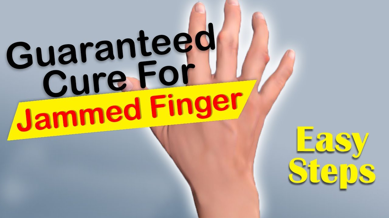5 Natural Ways To Heal A Jammed Finger | Cure Disease | HealthCare.