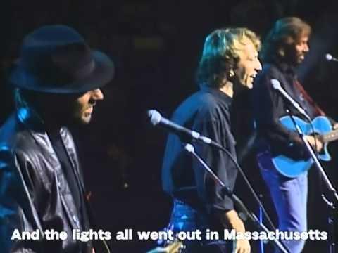 ビージーズ BEE GEES - マサチューセッツ MASSACHUSETTS (LIVE 1989)