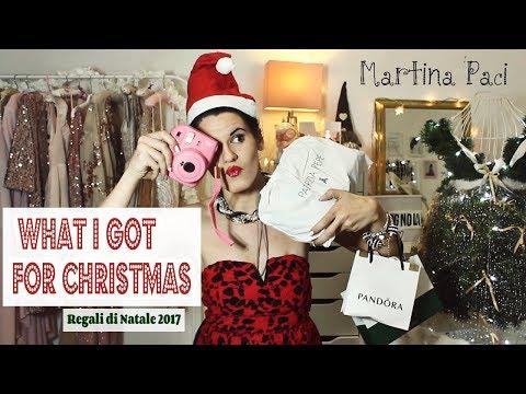 What I got for Christmas 🎄 I MIEI REGALI DI NATALE 2017 🎁   martinapaci