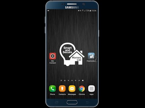 Smart Alerts CCTV App Preview