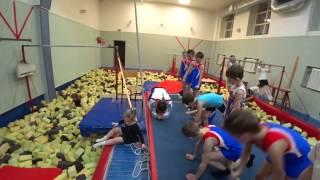 Спортивная гимнастика! Моя тренировка)))