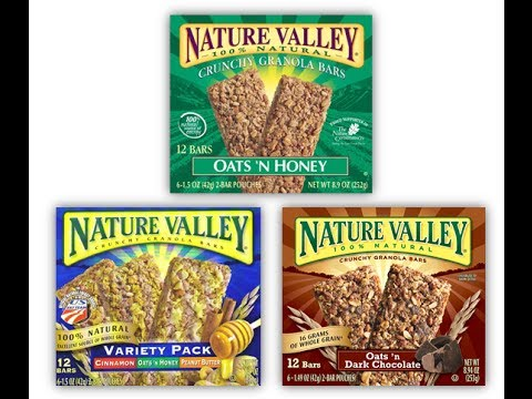 Is Nature Valley Granola Bars Gluten Free