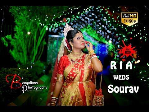 Cinematic bengali Wedding Video Ria Weds Sourav