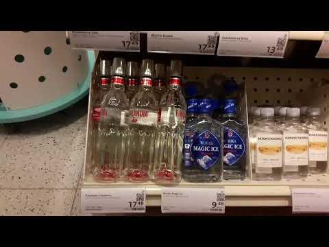 Цены на алкоголь в Финляндии. Сколько стоит выпить в Финляндии.   Prices For Alcohol In Finland.