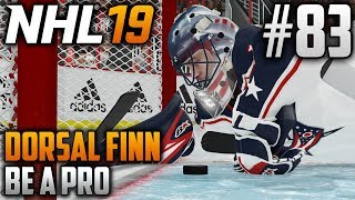 NHL 19 Be a Pro | Dorsal Finn (Goalie) | EP83 | OUR SEASON IS ON THE LINE (PLAYOFFS)