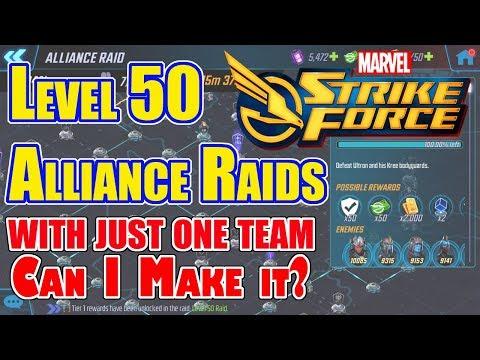 Marvel Strike Force - Level 50 Alliance...