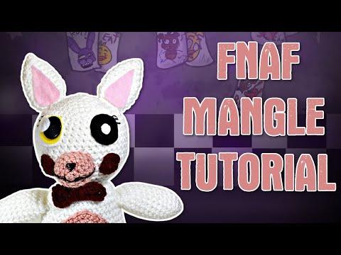 "Crochet FNAF Five Nights At Freddy's ""Mangle"" Amigurumi Tutorial"