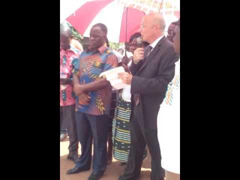 Appui du PASS à la mutuelle du village de Gnigbawa (Côte d'Ivoire) - Octobre 2015