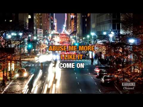 Abuse Me in the style of Silverchair | Karaoke with Lyrics